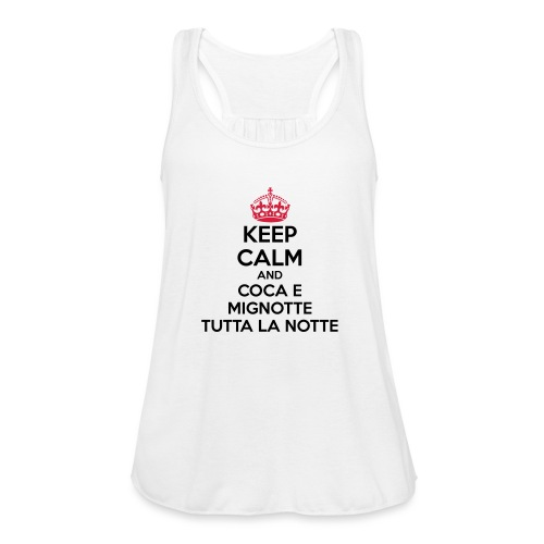 Coca e Mignotte Keep Calm - Top da donna della marca Bella