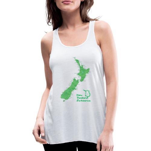 New Zealand's Map - Featherweight Women's Tank Top