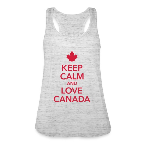 keep calm and love Canada Maple Leaf Kanada - Featherweight Women's Tank Top