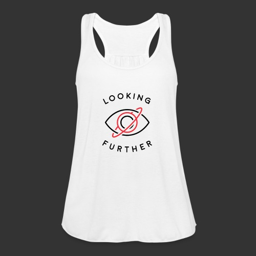 Looking Farther - White - Women's Tank Top by Bella