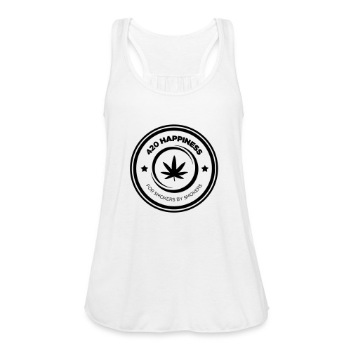 420_Happiness_logo - Ultralet tanktop til damer