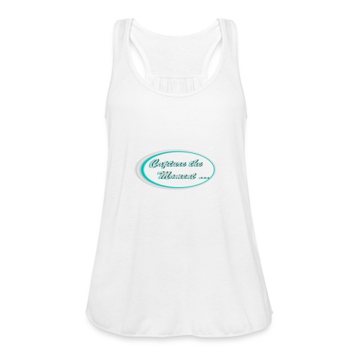 Logo capture the moment photography slogan - Featherweight Women's Tank Top