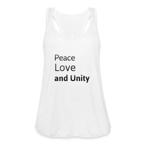 peace love and unity - Featherweight Women's Tank Top