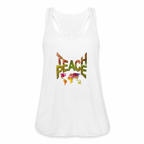 Teach Peace - Women's Tank Top by Bella