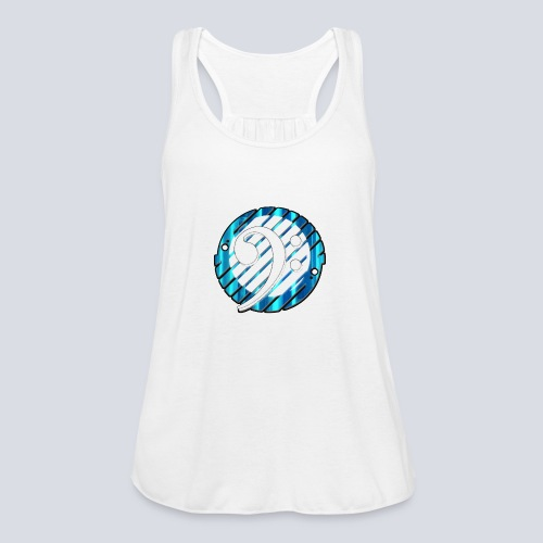 BassClef blue/white - Women's Tank Top by Bella