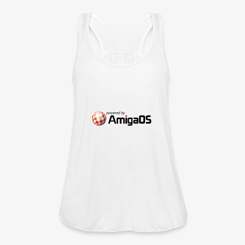 PoweredByAmigaOS Black - Women's Tank Top by Bella