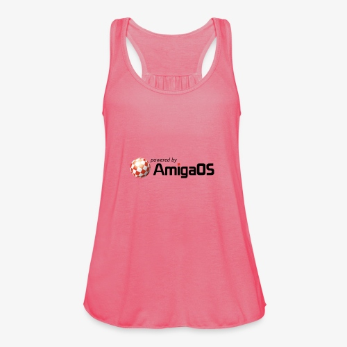 PoweredByAmigaOS Black - Featherweight Women's Tank Top