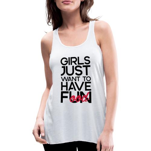 Girls just want to have food - Vederlichte vrouwen tanktop