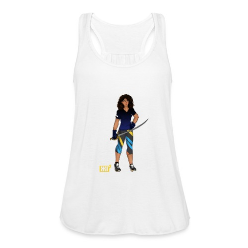 Sabre fencer - Featherweight Women's Tank Top