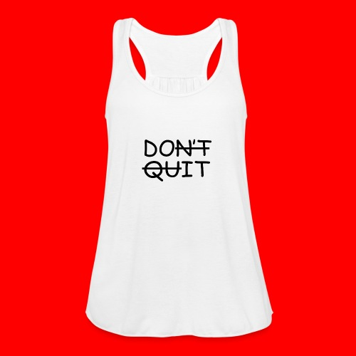 Don't Quit, Do It - Ultralet tanktop til damer