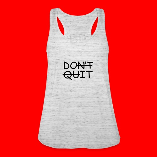 Don't Quit, Do It - Dame tanktop fra Bella