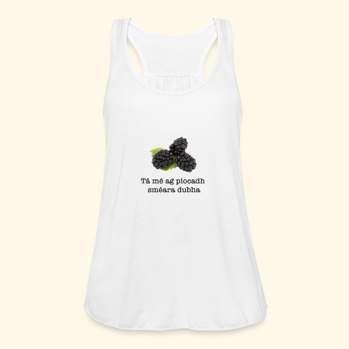 Picking blackberries - Featherweight Women's Tank Top