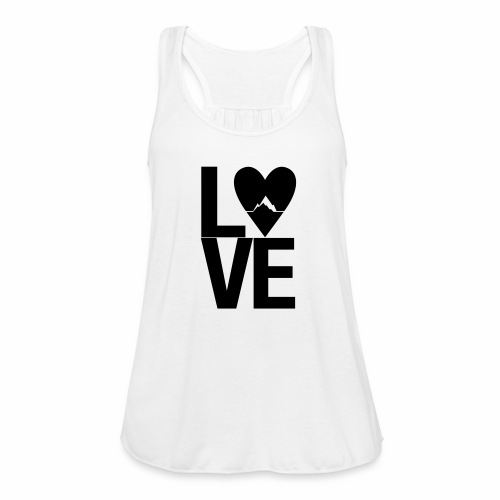 Mountain Love - Frauen Tank Top von Bella