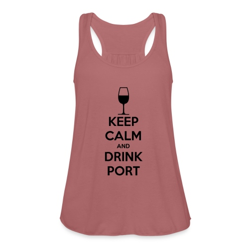 Keep Calm and Drink Port - Women's Tank Top by Bella