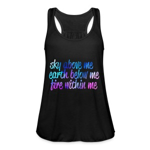 Sky Above Me - Frauen Tank Top von Bella
