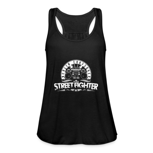 Street Fighter Band White - Women's Tank Top by Bella