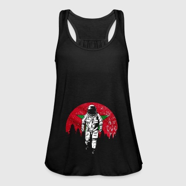 Astronaut Morocco flag gift - Women's Tank Top by Bella