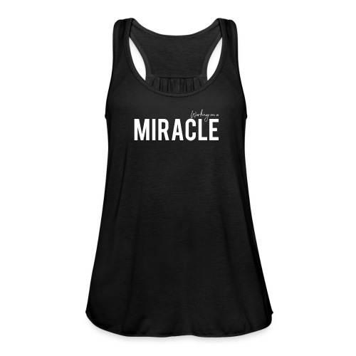 Working on a miracle black vest - Women's Tank Top by Bella