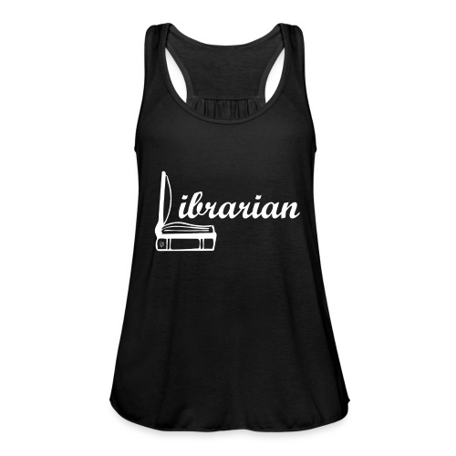 0325 Librarian Librarian Cool design - Women's Tank Top by Bella