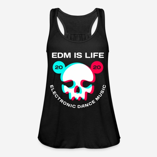 edm electronic dance music - Federleichtes Frauen Tank Top
