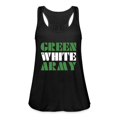 GREEN & WHITE ARMY - Featherweight Women's Tank Top