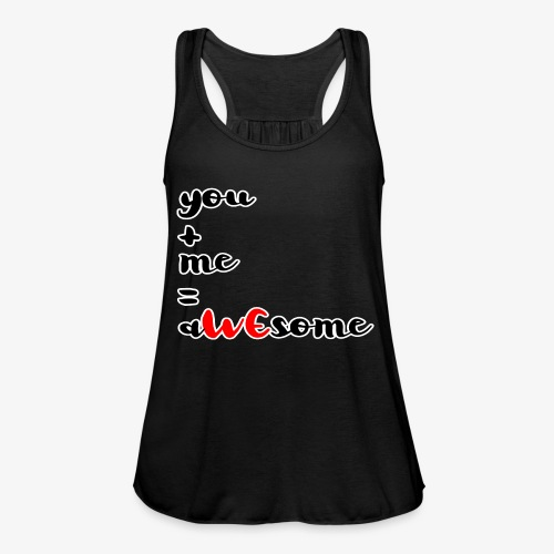 You and Me = AWEsome Valentinstag - Frauen Tank Top von Bella