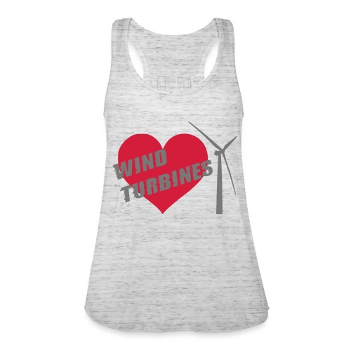 wind turbine grey - Women's Tank Top by Bella