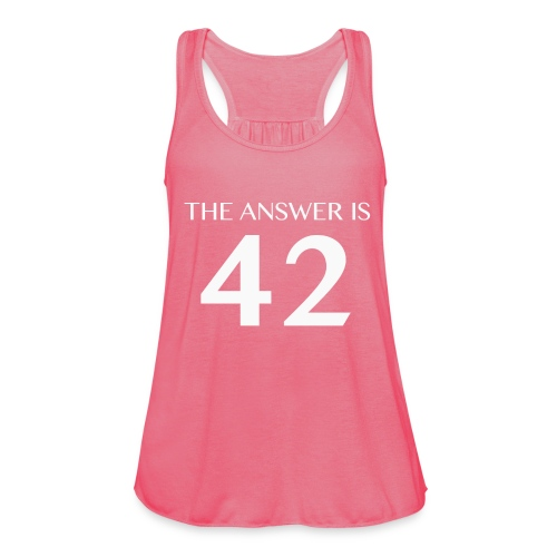 The Answer is 42 White - Featherweight Women's Tank Top