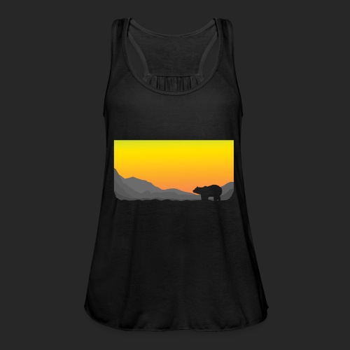 Sunrise Polar Bear - Featherweight Women's Tank Top
