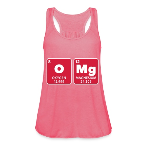 periodic table omg oxygen magnesium Oh mein Gott - Women's Tank Top by Bella