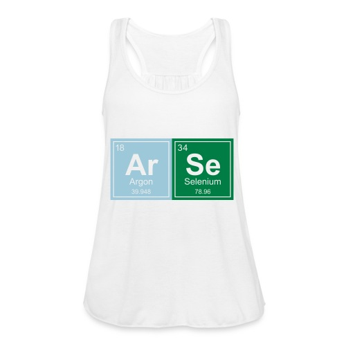 Geeky Arse Periodic Elements - Women's Tank Top by Bella