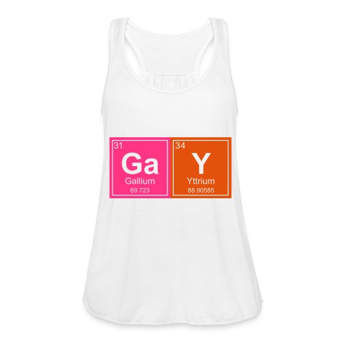 Geeky Gay Periodic Elements - Women's Tank Top by Bella