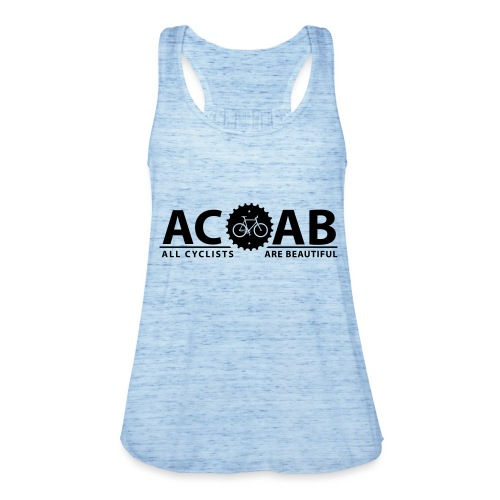 ACAB All Cyclists Are Beautiful T-Shirts - Federleichtes Frauen Tank Top