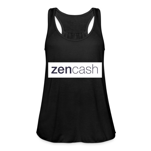 ZenCash CMYK_Horiz - Full - Women's Tank Top by Bella