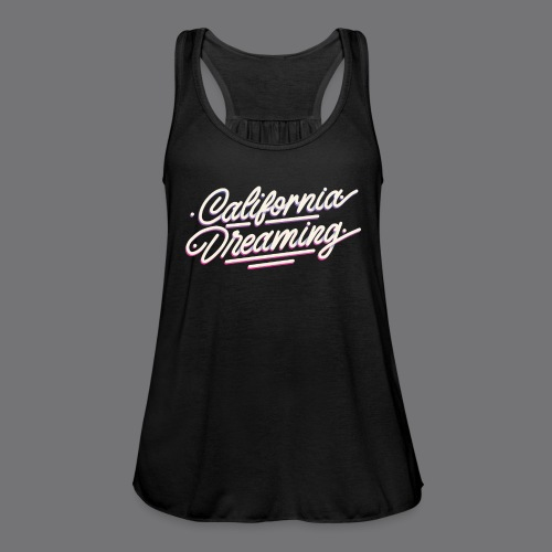 CALIFORNIA DREAMING Vintage Tee Shirt - Women's Tank Top by Bella