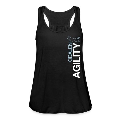 odalen agility blue1 - Featherweight Women's Tank Top
