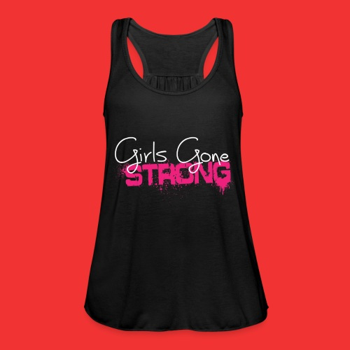 girls gone strong png - Débardeur ultra-léger Femme