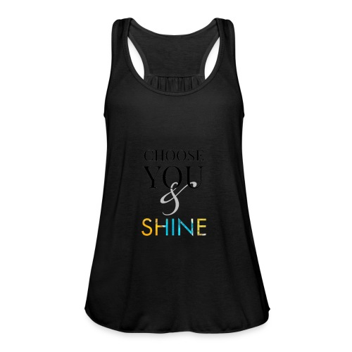 Choose you and shine - Fjærlett singlet for kvinner