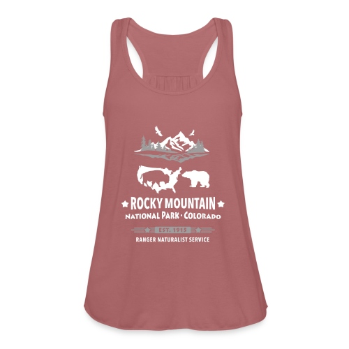 Rocky Mountain Nationalpark Berg Bison Grizzly Bär - Women's Tank Top by Bella