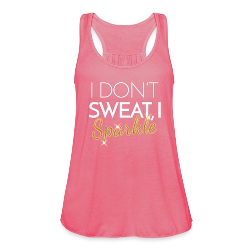 i-dont-sweat-i-sparkle - Women's Tank Top by Bella