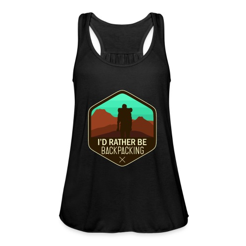 I'd Rather Be Backpacking - Frauen Tank Top von Bella