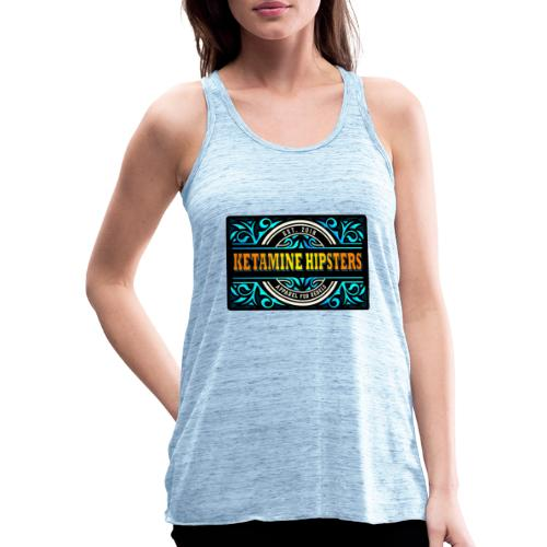 Black Vintage - KETAMINE HIPSTERS Apparel - Women's Tank Top by Bella