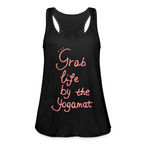 Grab Life By The Yogamat Simple - Women's Tank Top by Bella