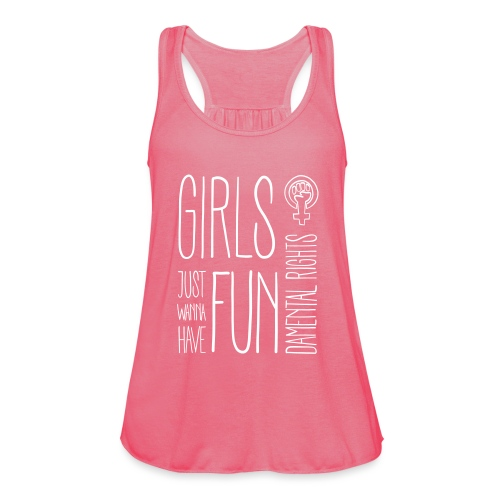 Girls just wanna have fundamental rights - Frauen Tank Top von Bella