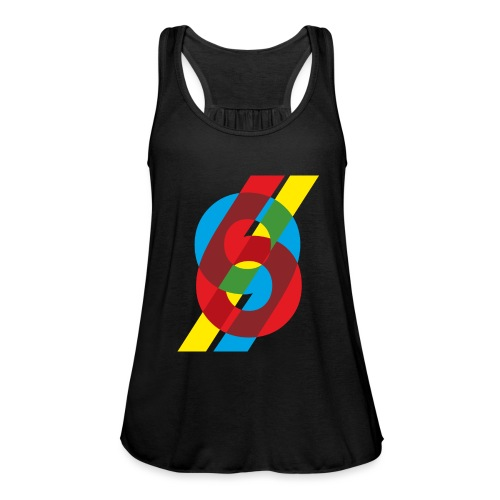 colorful numbers - Women's Tank Top by Bella