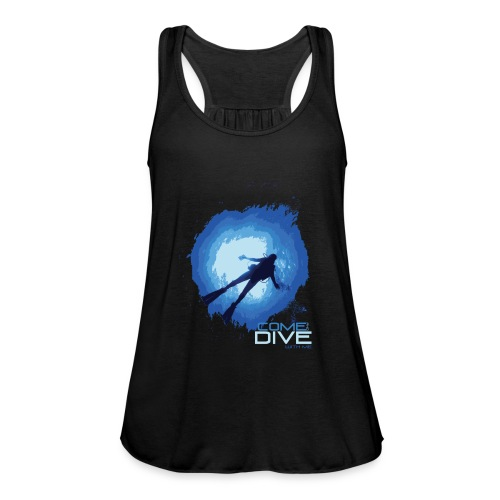 Come and dive with me - Tank top damski Bella