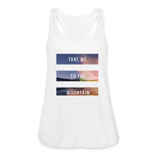 Take me to the mountain - Ligerísima camiseta de tirantes para mujer