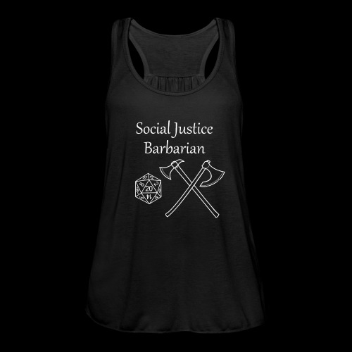 Social Justice Barbarian - Featherweight Women's Tank Top