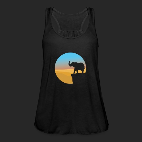 Sunset Elephant - Featherweight Women's Tank Top
