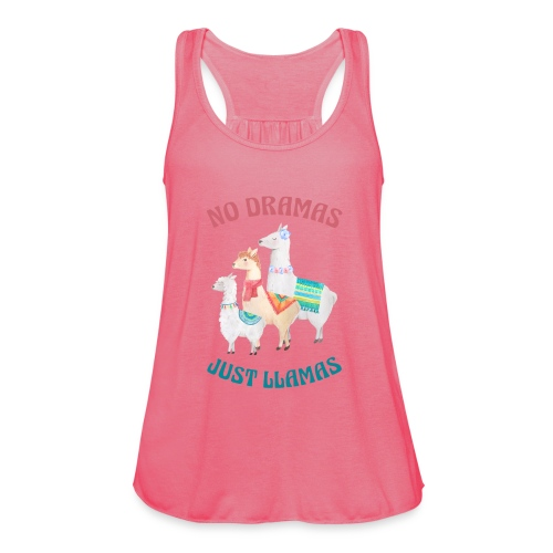 No Dramas Just Llamas - Women's Tank Top by Bella